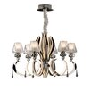 Schuller Atenas 6 LED Light Crystal Chandelier