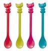 Koziol Happy Kitty Spoon (Set of 4)