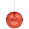 Koziol Orion 1 Light Globe Pendant