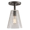 JVI Designs Grand Central 1 Light Semi Flush Mount