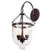 JVI Designs 3 Light Bell Jar Wall Sconce