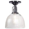 JVI Designs Union Square 1 Light Semi-Flush Mount