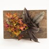 Reclaimed Wood Wall Planter - Color: Brown - Bright Green Planters
