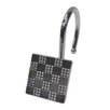 Elegant Home Fashions Checker Shower Hook (Set of 12)