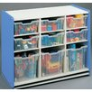 TotMate 1000 Series Preschooler Combination Big Bin Storage