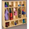 TotMate 2000 Series 1 Tier 5-Section Cubbie Floor Locker