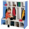 TotMate 1000 Series 1 Tier 5-Section Cubbie Floor Locker