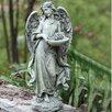 Angel with Bowl Decorative Tray Bird Feeder - Joseph's Studio Bird Feeders