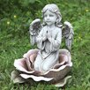 Angel in the Rose Statue - Joseph's Studio Garden Statues and Outdoor Accents