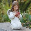 Angel with Heart Statue - Joseph's Studio Garden Statues and Outdoor Accents