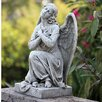 Joseph's Studio Kneeling Praying Angel Statue