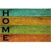 Akzente Gallery Wooden Plank Doormat