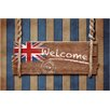 Akzente Gallery Welcome England Doormat