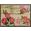 Akzente Postcard Rose Doormat
