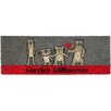 Akzente Cats Comic Doormat