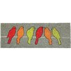 Akzente 'Birds on Line' Doormat