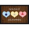 Akzente Deco 'Herzlich Willkommen' ('Welcome!') Wash Doormat