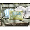 Rightside Design I Sea Life Sand Dollar Outdoor Sunbrella Throw Pillow