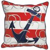 Rightside Design I Sea Life Outdoor Sunbrella Throw Pillow