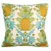 Rightside Design Indoor/Outdoor Embroidered Pineapple Throw Pillow