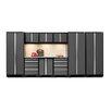 NewAge Products Bold 3.0 Series 10 Piece Garage Storage Cabinet Set with Worktop