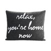 Alexandra Ferguson Celebrate Everyday Relax, You're Home Now Throw Pillow