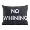 Alexandra Ferguson House Rules No Whining Throw Pillow