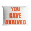 Alexandra Ferguson Zen Master You Have Arrived Throw Pillow