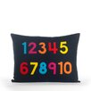 Alexandra Ferguson Play Room 123 Throw Pillow