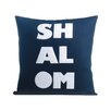 Alexandra Ferguson Shalom Organic Throw Pillow