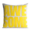 Alexandra Ferguson Awesome Throw Pillow