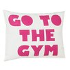 Alexandra Ferguson Go To The Gym Throw Pillow