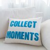 Alexandra Ferguson Collect Moments Canvas Lumbar Pillow