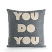 Alexandra Ferguson You Do You Throw Pillow