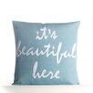 Alexandra Ferguson It's Beautiful Here Outdoor Throw Pillow