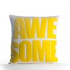Alexandra Ferguson Awesome Outdoor Throw Pillow