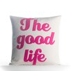 Alexandra Ferguson The Good Life Outdoor Throw Pillow