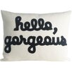 Alexandra Ferguson Hello, Gorgeous Canvas Lumbar Pillow