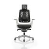 Dynamic Office Seating Zure High-Back Mesh Executive Chair with Arms and Headrest