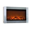 Fire Sense Wall Mount Electric Fireplace