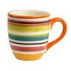 Omniware Rio Multistriped 14 oz. Mug (Set of 4)