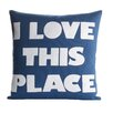 Alexandra Ferguson Celebrate Everyday I Love This Place Throw Pillow