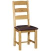 Alpen Home Cardalea Solid Oak Upholstered Dining Chair (Set of 2)