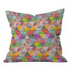 DENY Designs Bianca Green Lost in Pyramid Indoor/Outdoor Throw Pillow