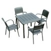 Nardi Maestrale 4 Seater Dining Set
