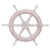 Handcrafted Nautical Decor Classic Ship Wheel Wall Décor