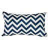 OC Fun Saks Chevron Indoor/Outdoor Lumbar Pillow