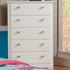 Sandberg Furniture Hailey 5 Drawer Chest