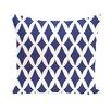 e by design Lattice Kravitz Geometric Throw Pillow