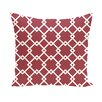 e by design Link Lock Geometric Throw Pillow